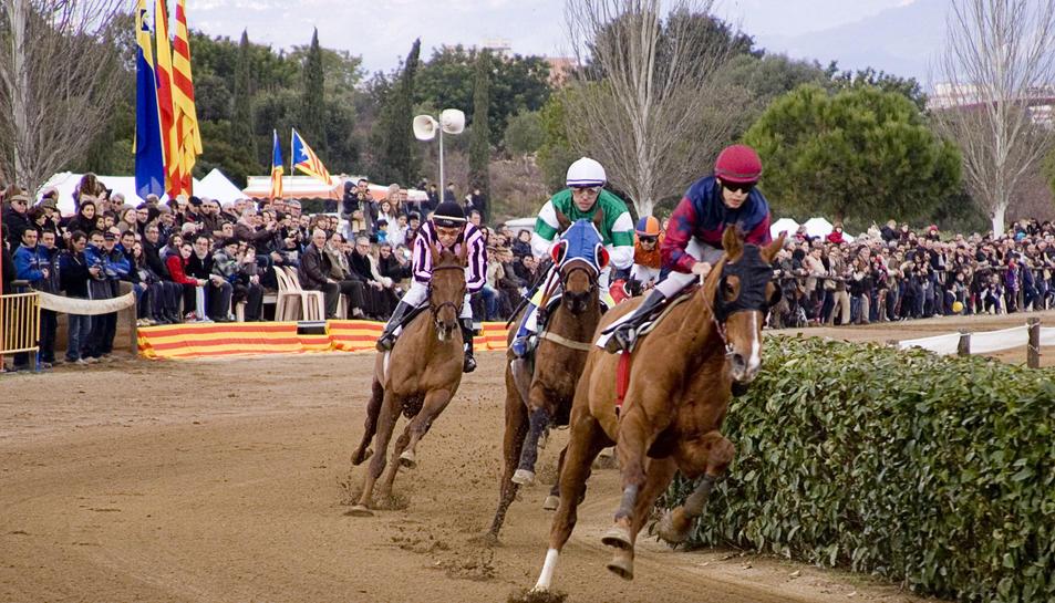 Les curses de cavalls i els concerts, plats forts de les festes de Sant Antoni