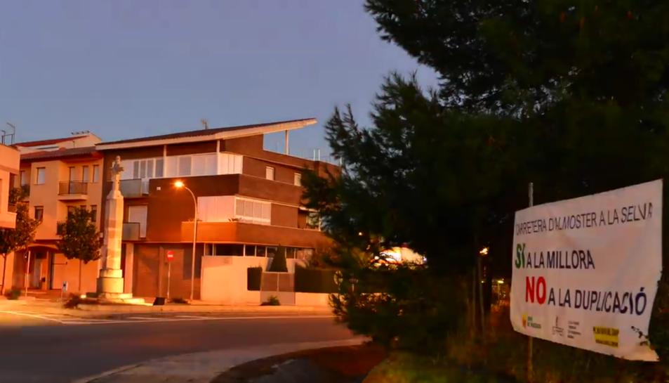 Una imatge del vídeo contra la nova variant d'Almoster.