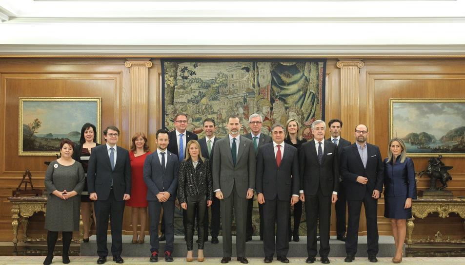 Foto de família dels alcaldes