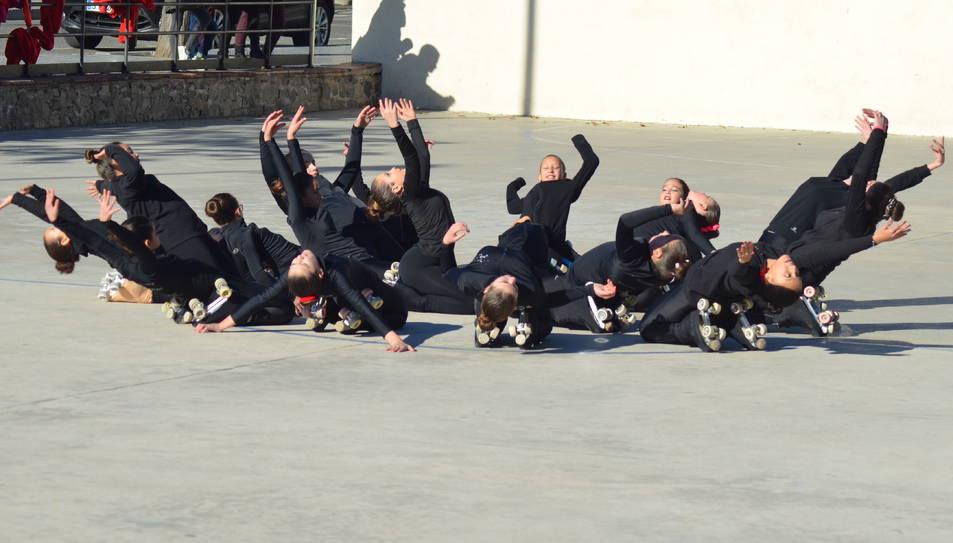 Les patinadores del Patí Club Vila-seca