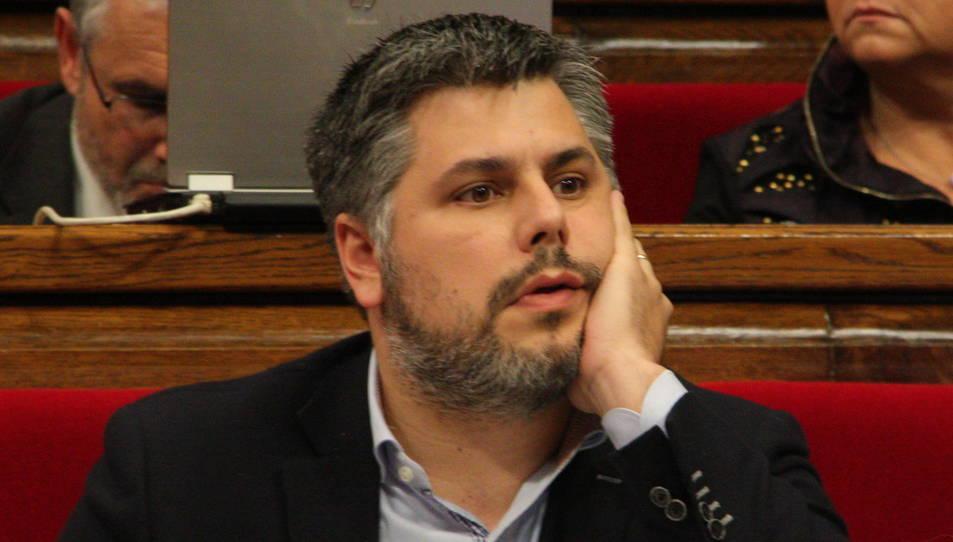 Imatge d'arxiu de l'actual alcalde de Valls, Albert Batet.