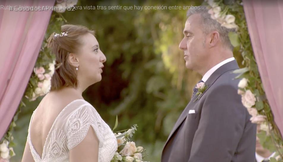 Jaume Martí es casa amb l'extremenya Ruth Villanueva.