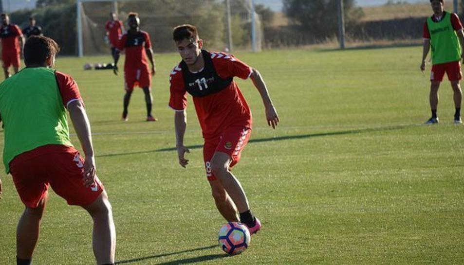 Pérez va ser cedit el passat mes d'agost al Real Murcia CF.