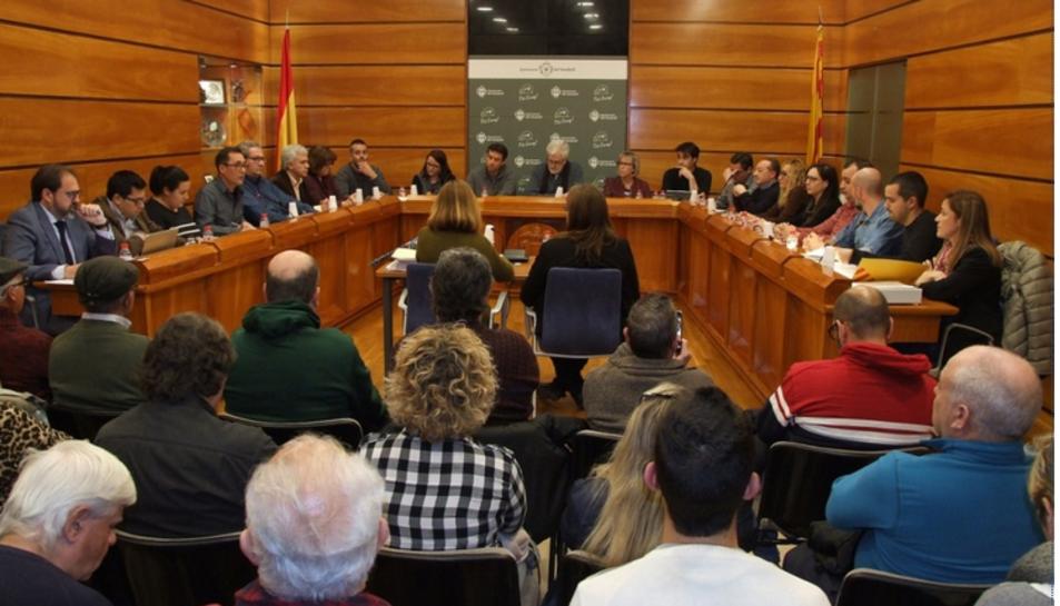 El ple de Vendrell va aprovar per  unanimitat la moció presentada per SSP.