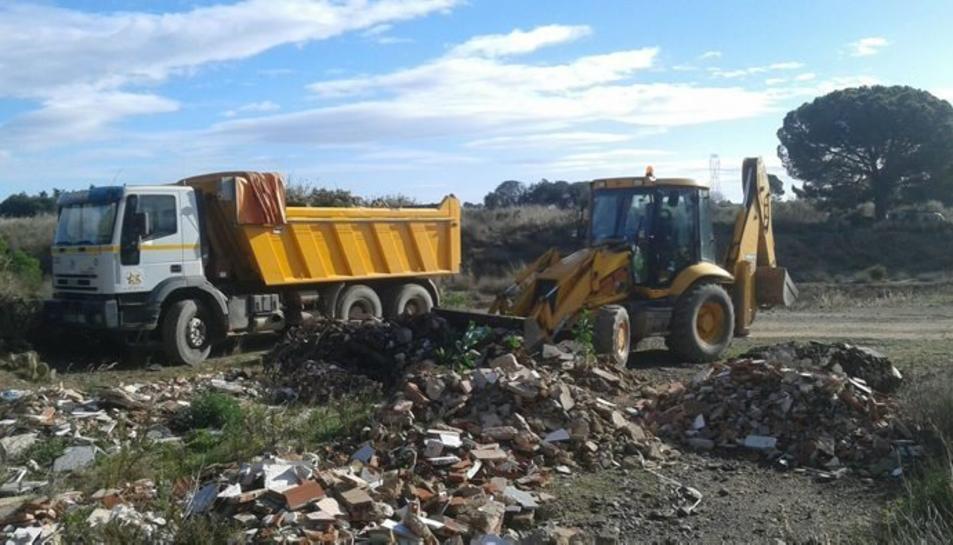 Evolució dels treballs duts a terme per l'Agència Catalana de l'Aigua (ACA).