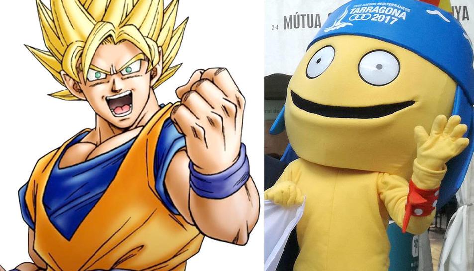 Son Goku i Tarracus, cara a cara.