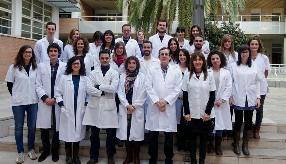 Investigadors de la Unitat de Nutrició Humana de la Universitat Rovira i Virgili, que han liderat l'estudi.