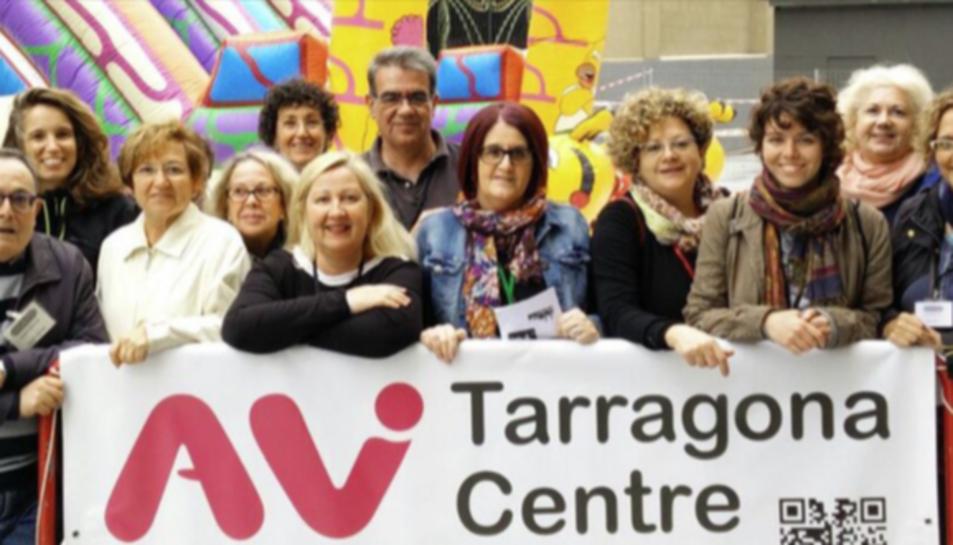 Imatge dels integrants de l'Associació de Veïns de Tarragona Centre.