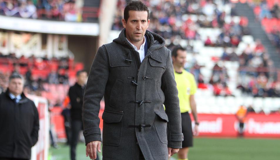 L'entrenador del Nàstic, Juan Merino.