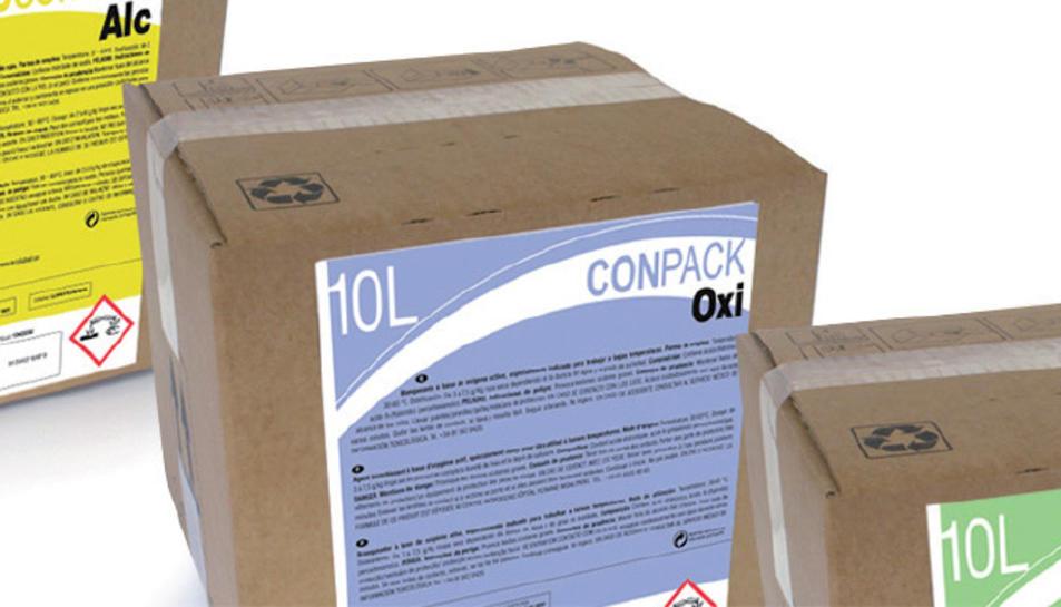 Un dels productes que s'exposaran en la mostra d'ecodisseny.