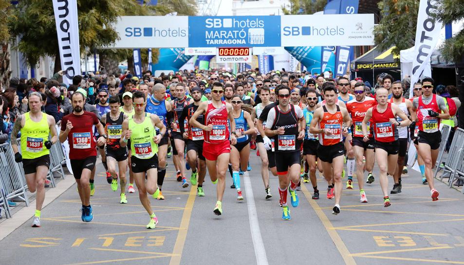 La sortida de la Marató.