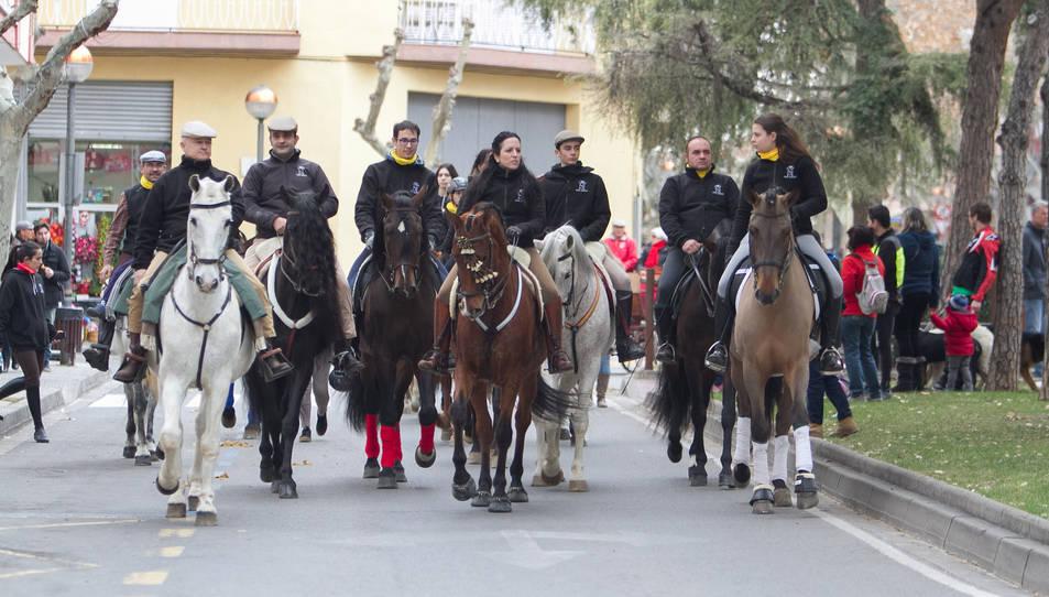Els cambrilencs han pogut gaudir de la festivitat de Sant Antoni després que es suspenguessin els actes de l'any anterior.