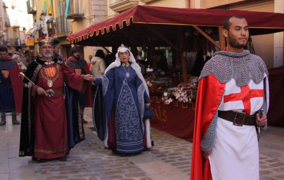 Imatge d'arxiu de la Setmana Medieval montblanquina.