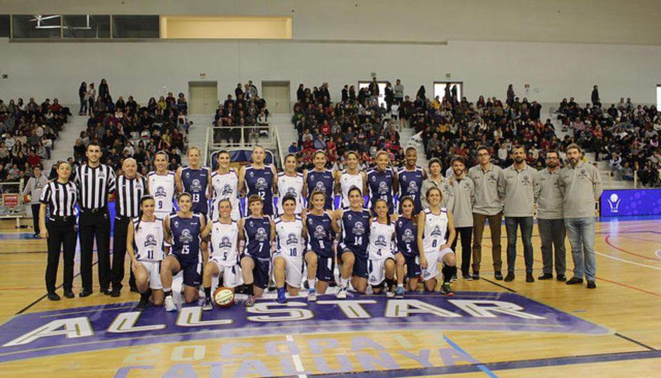 Les jugadores catalanes que van participar a la competició.