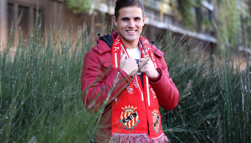 Luismi va arribar al Nàstic en el mercat d'hivern després d'haver tingut molt poques oportunitats al Valladolid durant la primera meitat de temporada.