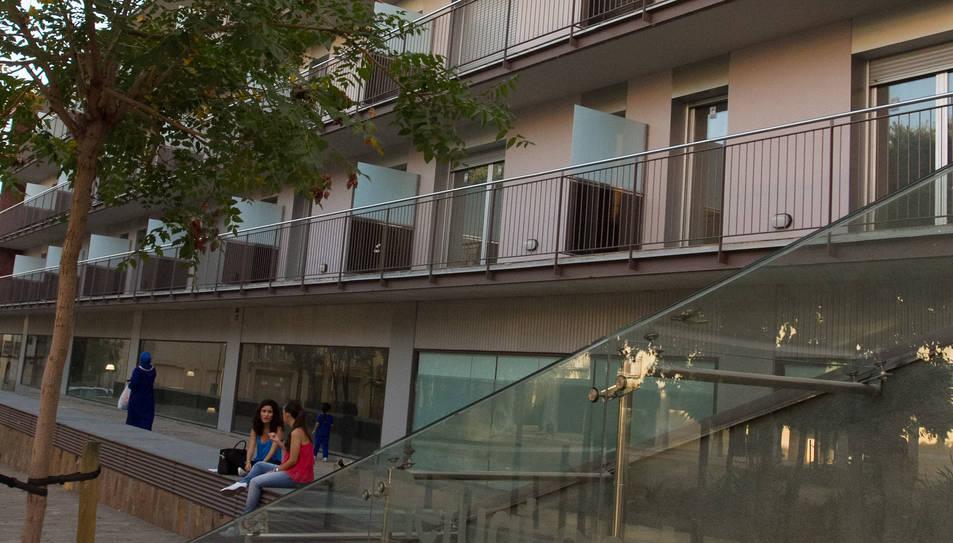 Una imatge d'arxiu del bloc de pisos que s'oferia.