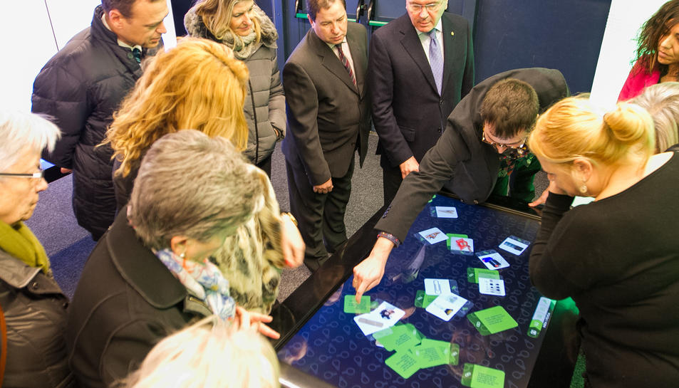 L'exposició inclou l'espai interactiu CaixaLab Experience.