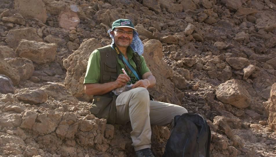 Xosé-Pedro Rodríguez, cap de recerca de l'IPHES i membre de l'expedició.