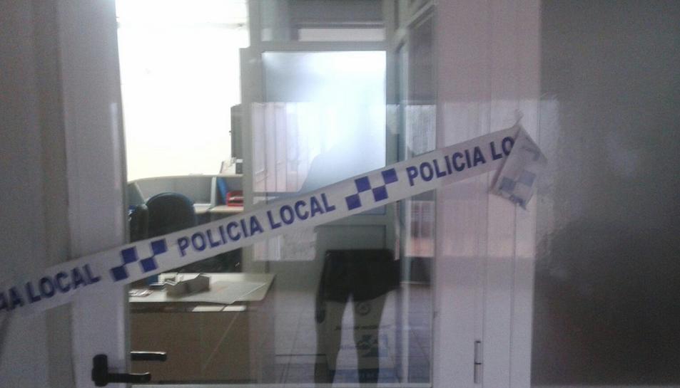 La policia ha precintat la zona.