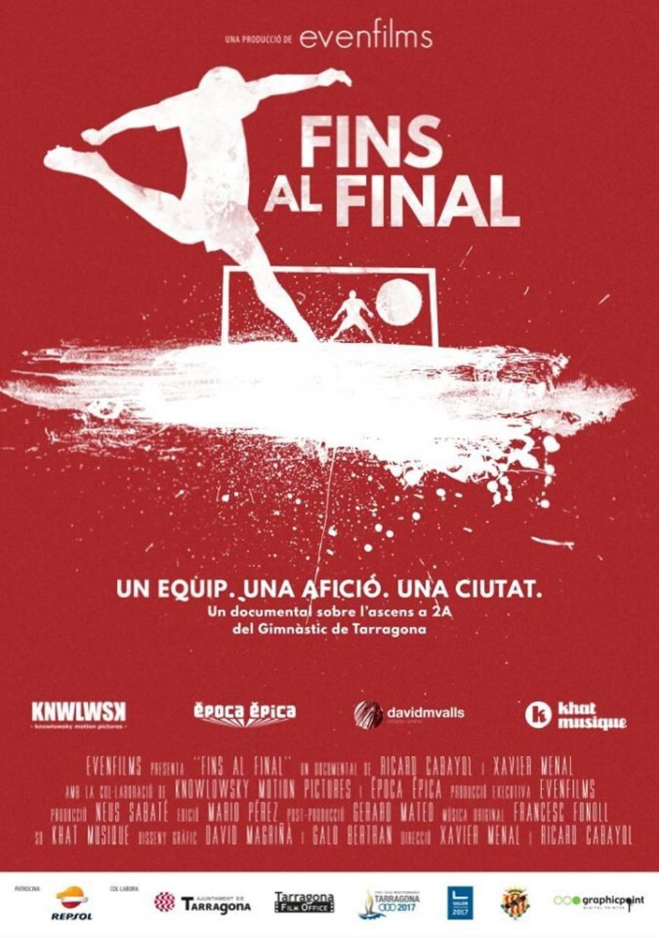 Cartell del documental 'Fins el final