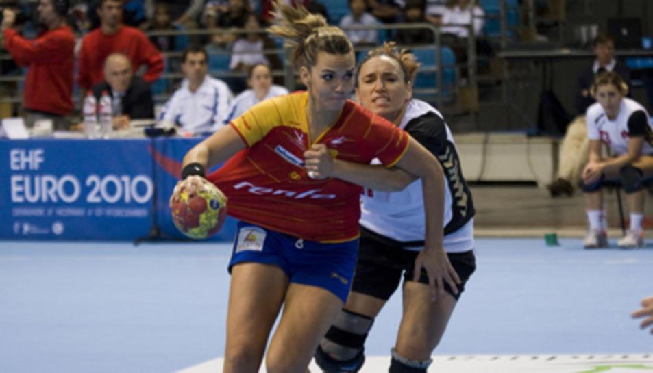 Imatge d'arxiu de la selecció espanyola femenina.