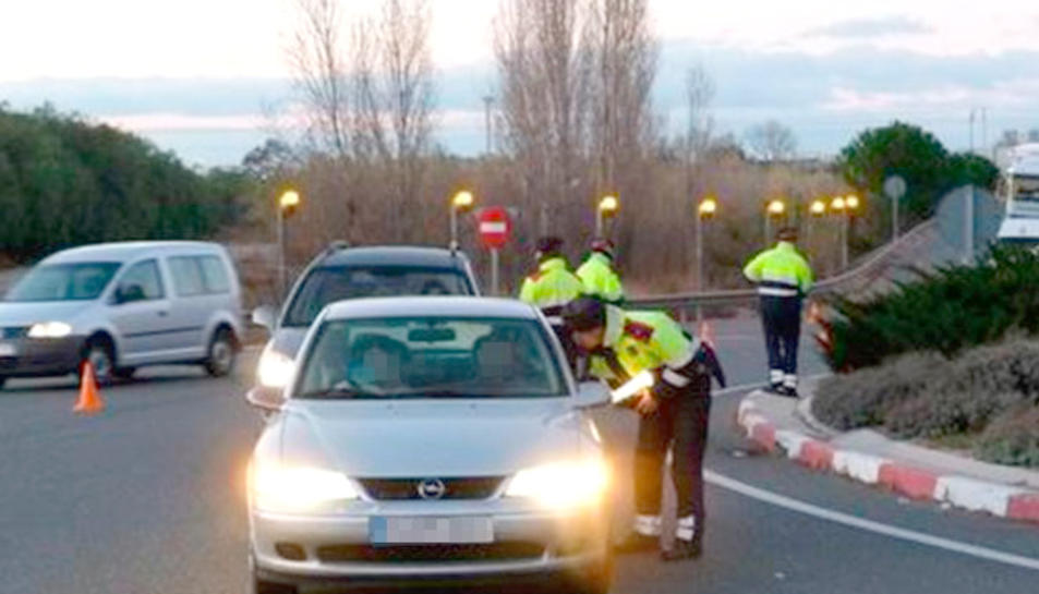 Un control de carretera recent dels Mossos d'Esquadra.