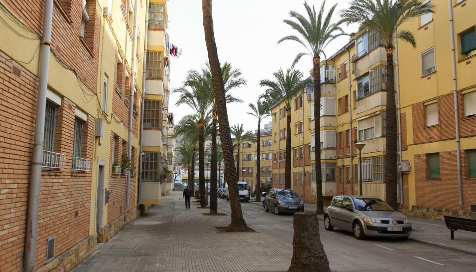 Diversos blocs de pisos situats al barri Fortuny.