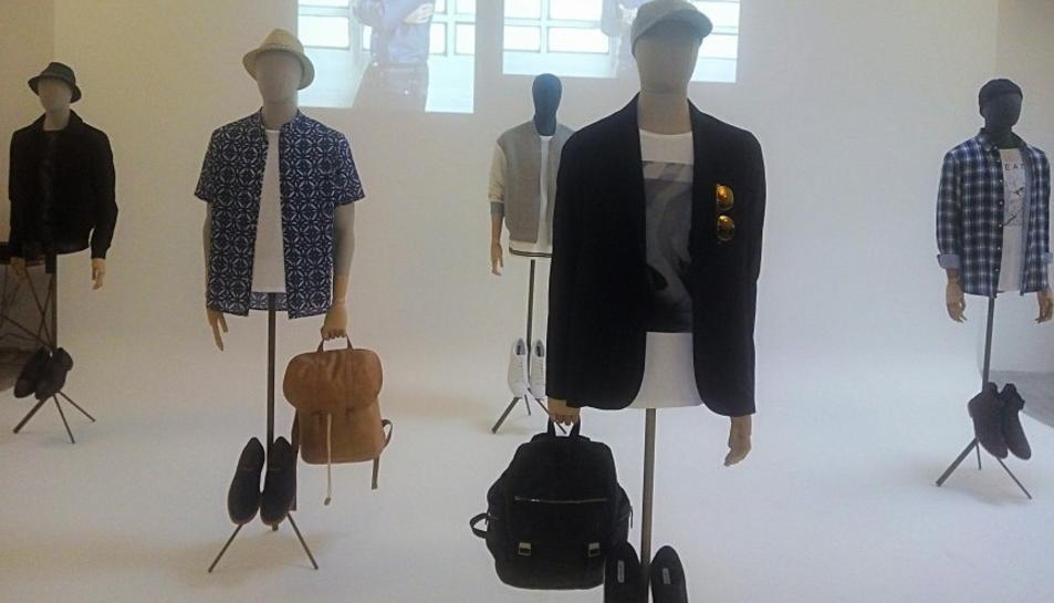 Algunes de les peces d ela línia per a home d'Stradivarius.