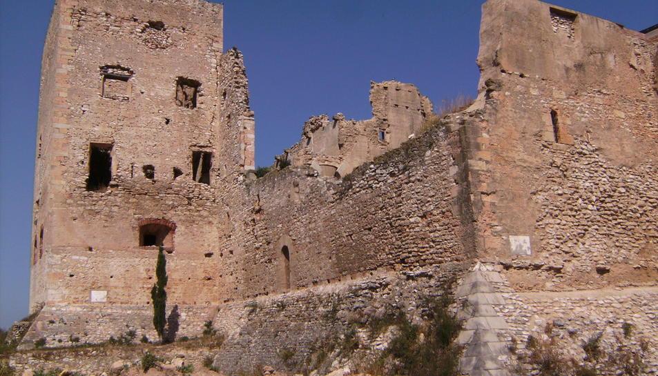 Les obres al Castell de Vallmoll es fan amb aquesta partida.