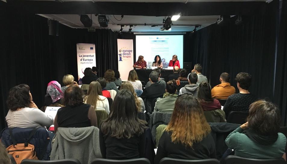 Imatge de la presentació de l'estudi de la URV, a l'Espai Kesse.