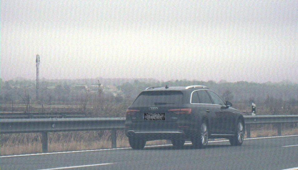 El conductor que circulava a 210km/h va rebre una sanció per excés de velocitat.