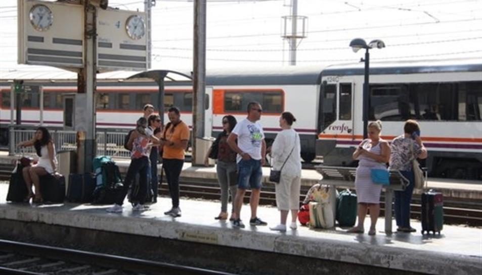 Renfe té un tren aturat
