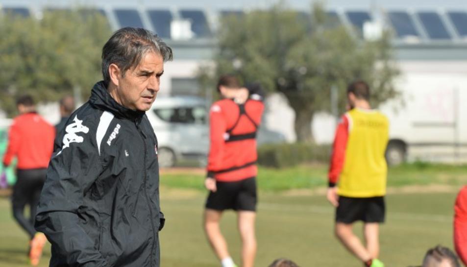 Natxo González, tècnic del CF Reus.