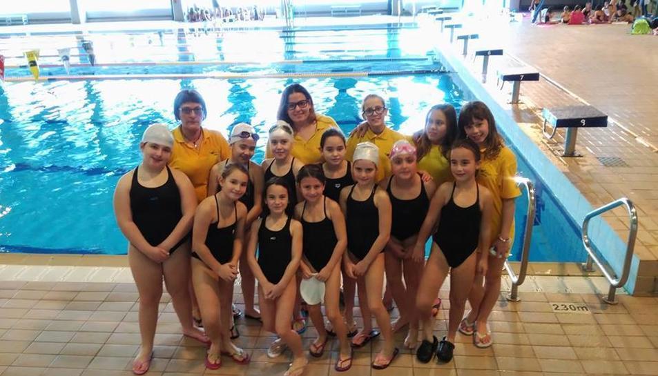 Les nedadores del Valfago Salou.