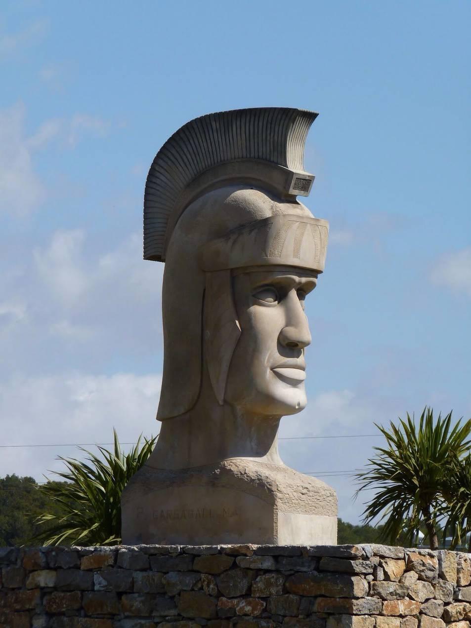 Un dels caps romans.