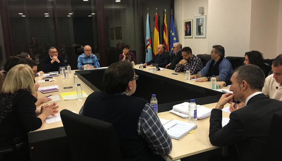 Aquest dijous es va celebrar l'últim plenari de l'Ajuntament de la Canonja