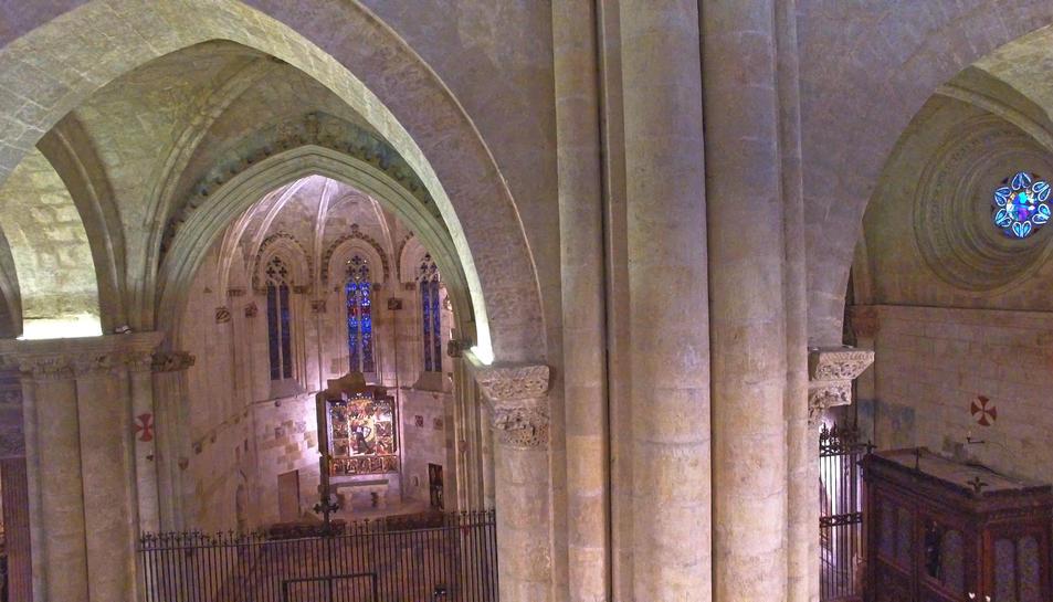 Una part de la Catedral vista des de l'aire.