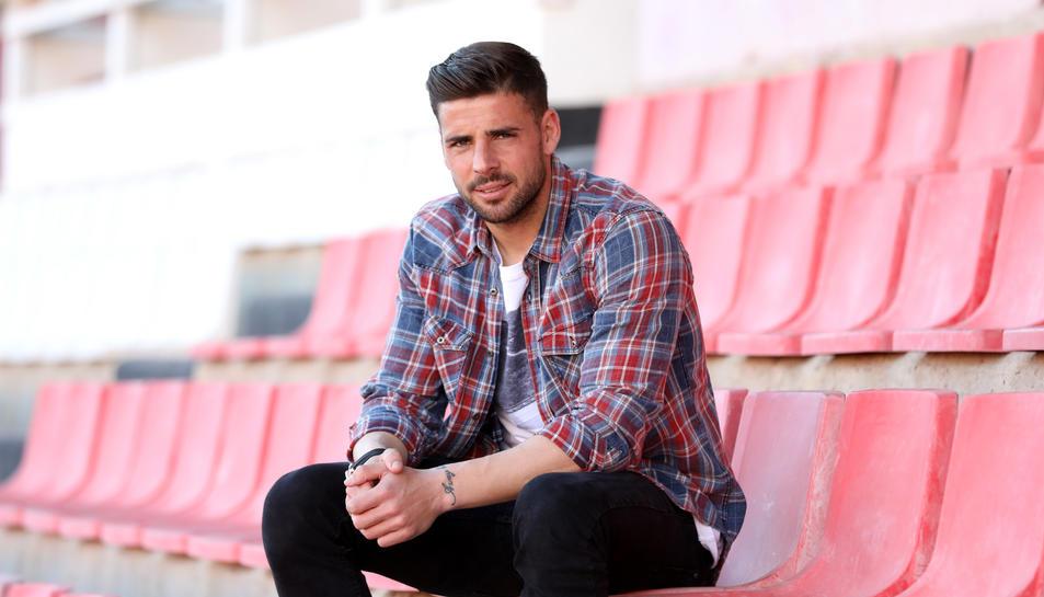 Xavi Molina ofereix les seves impressions al Nou Estadi, on l'equip haurà d'afrontar els dos pròxims partits, vitals de cara a les opcions de permanència de l'equip.