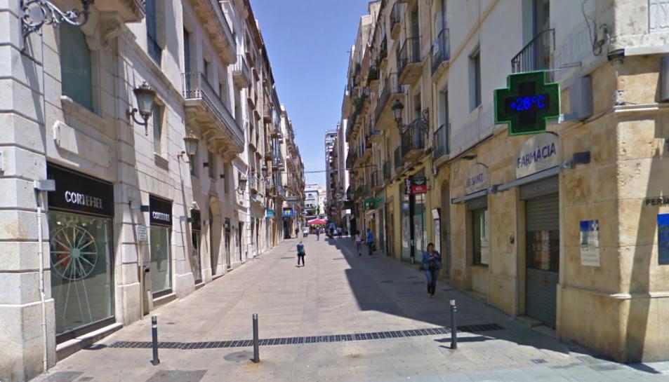 El presumpte autor dels fets va ser detingut al carrer Compte de RIus.