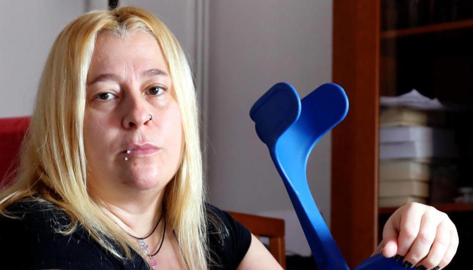 Cristina Díaz pateix greus seqüeles, presumptament com a resultat del tractament rebut.