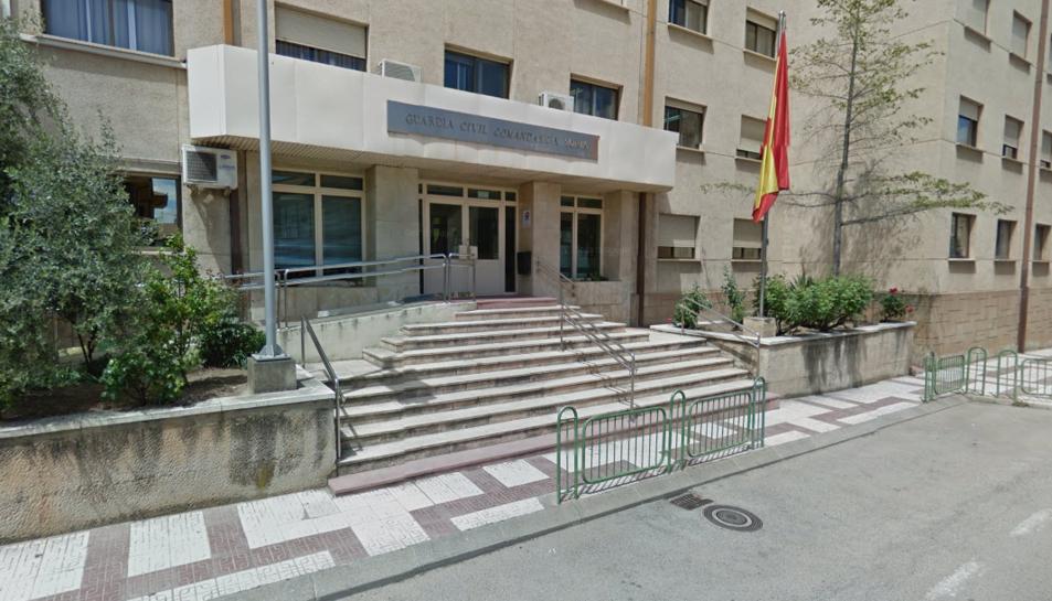 Agents de la Guàrdia Civil de la Comandància de Soria han detingut l'agressor.