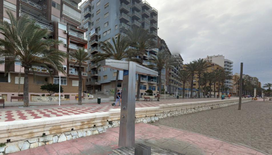 La menor de 13 anys es prostituia al Passeig Marítim d'Almeria.