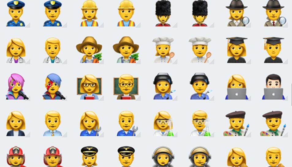 Les noves icones que incorpora el servei de missatgeria.