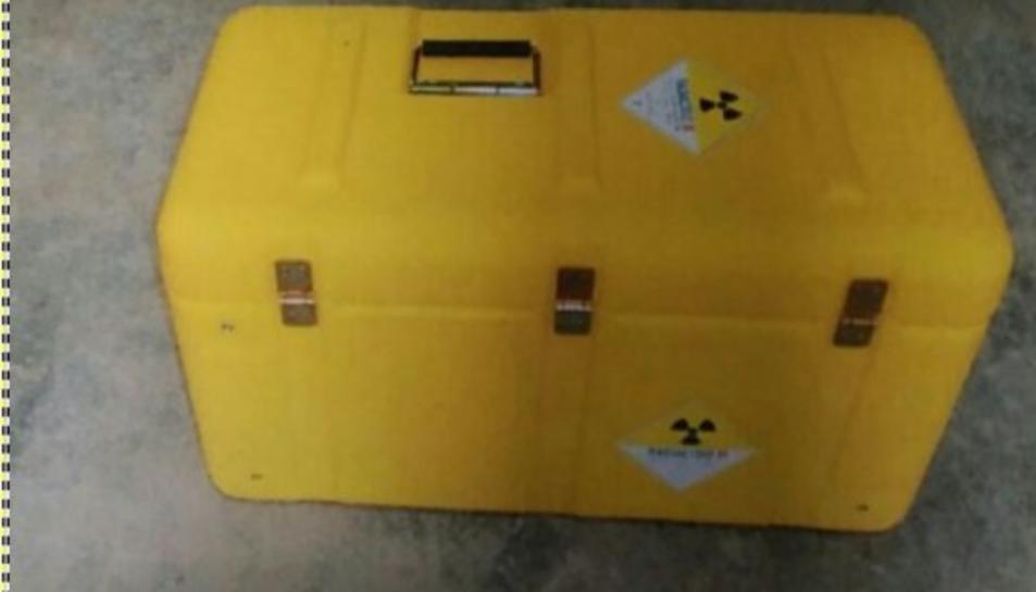 El maletí ha estat trobat a Montcada i Reixac.