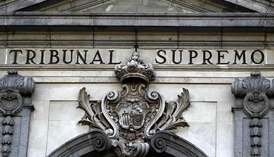 Fotografia de la façana del Tribunal Suprem