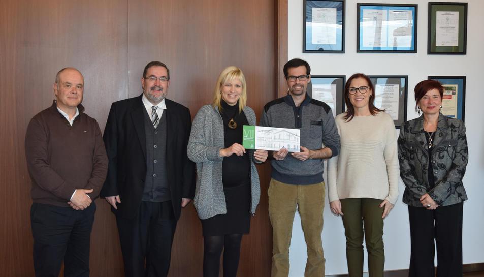 Imatge de l'acte de lliurament del VII Premi d'Investigació Port de Tarragona.