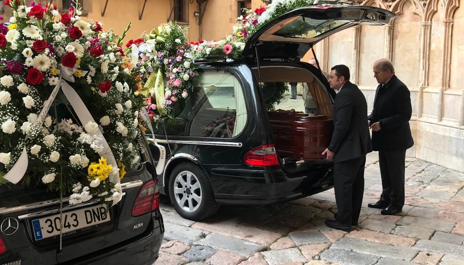 El funeral de Marbel Negueruela.