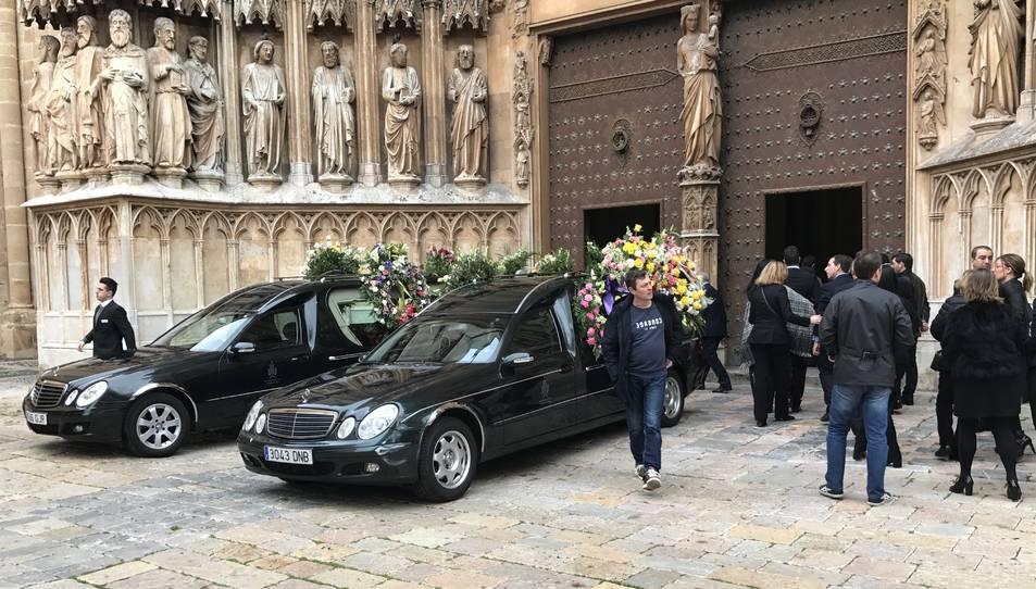 La Catedral ha acollit l'ofici de l'enterrament.