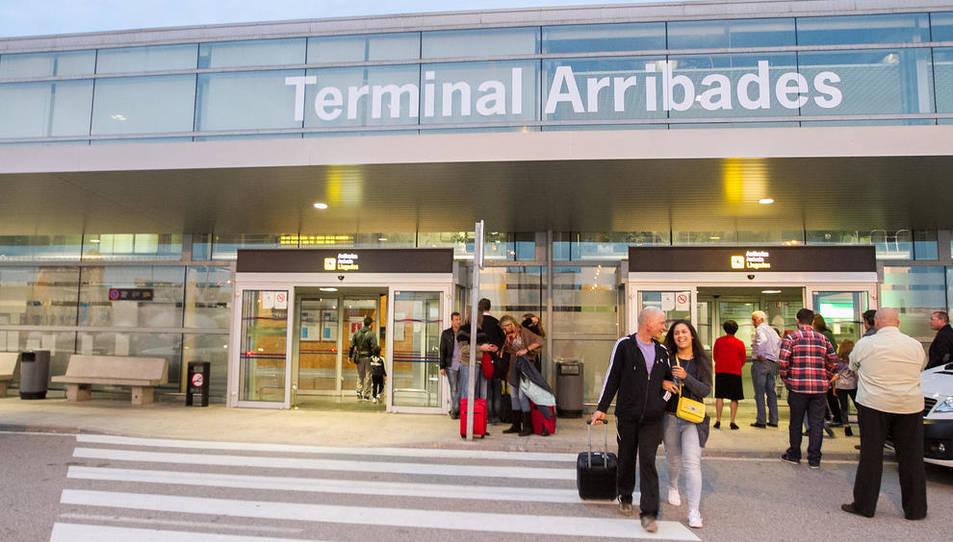 La Terminal d'arribades de l'Aeroport, en imatge d'arxiu.