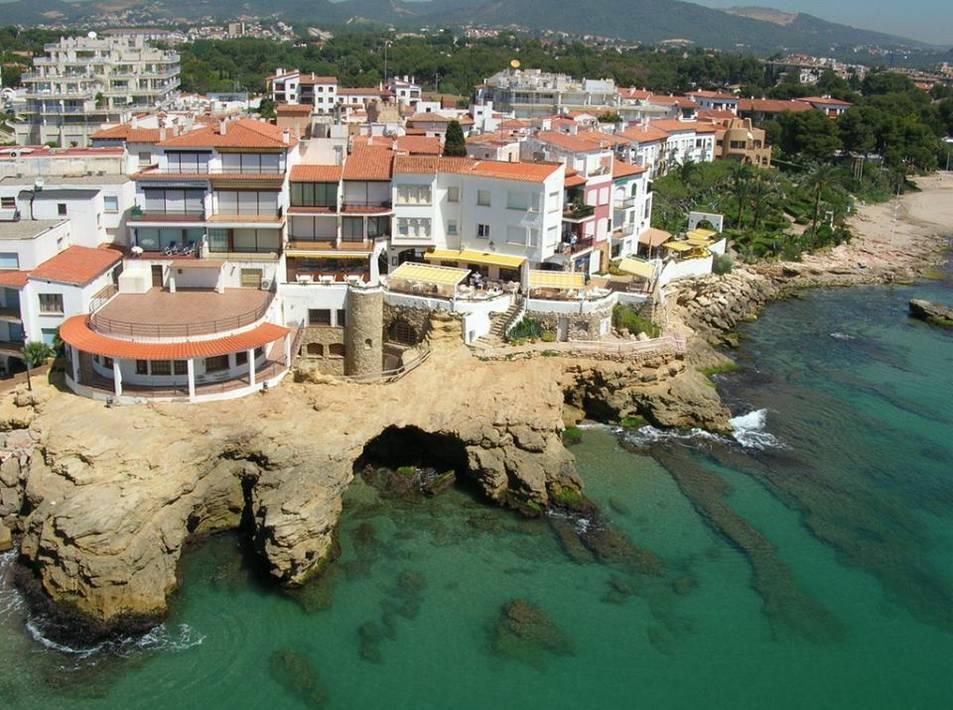 Imatge aèria de la urbanització Roc de Sant Gaietà.